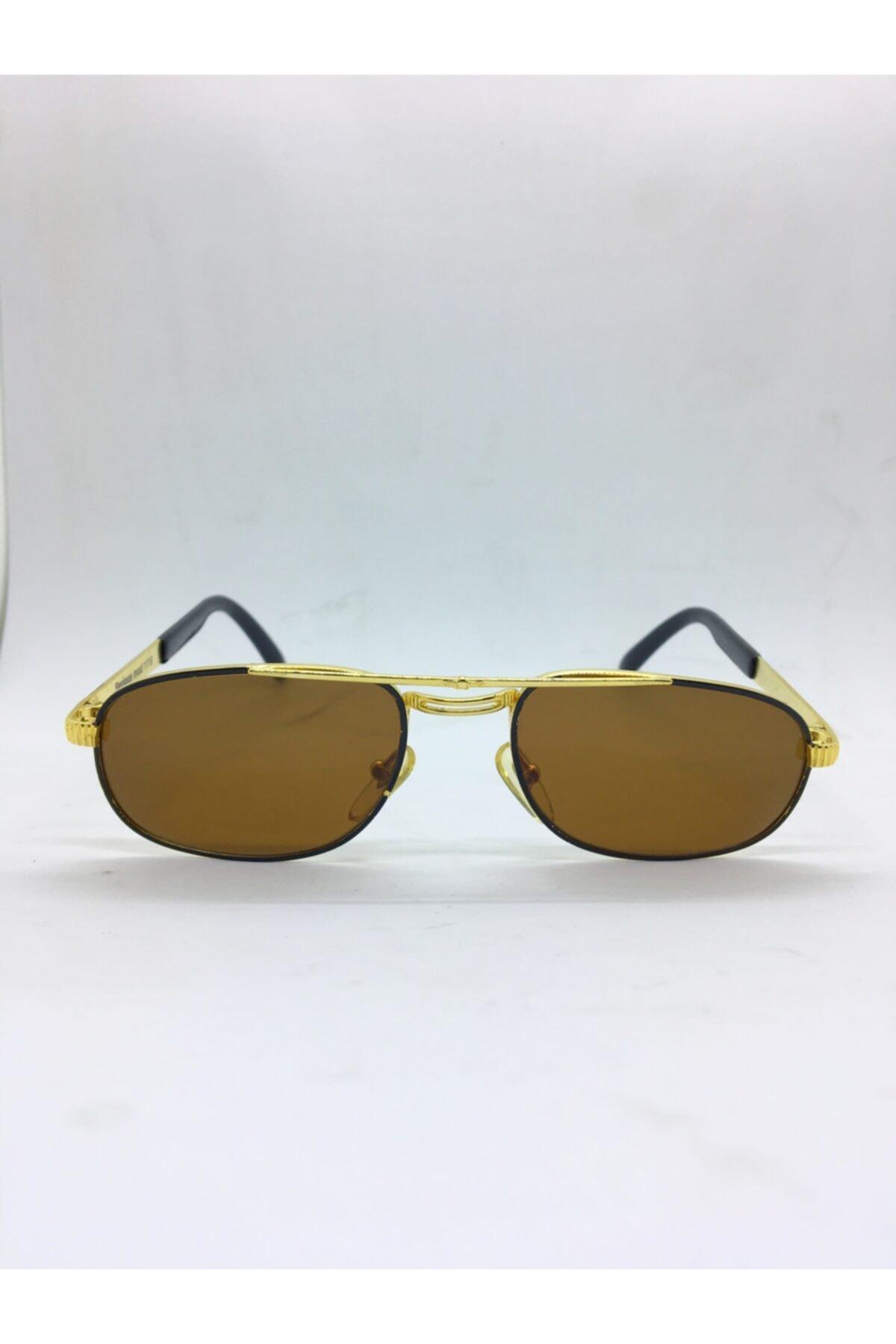 عینک آفتابی 2020 مدل جدید برند GBN رنگ قهوه ای کد ty44712549