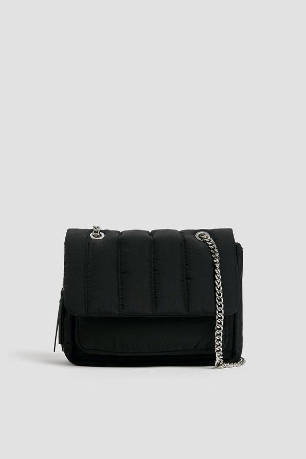 خرید انلاین کیف دستی اورجینال زنانه برند Pull & Bear رنگ مشکی کد ty44825805