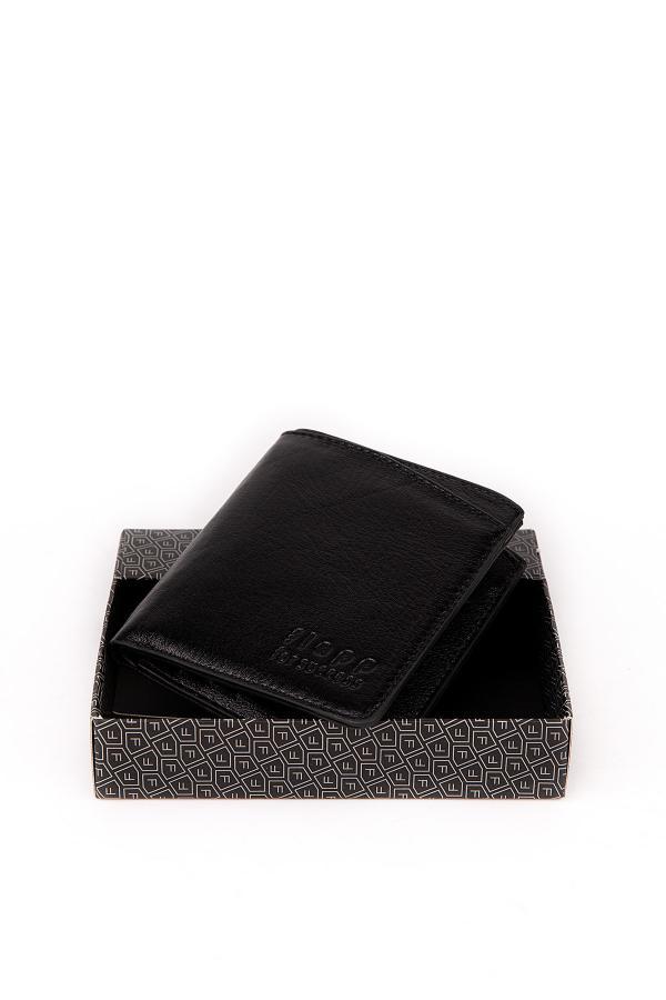 فروش پستی کیف پول مردانه ترک برند Flapp رنگ مشکی کد ty45329379