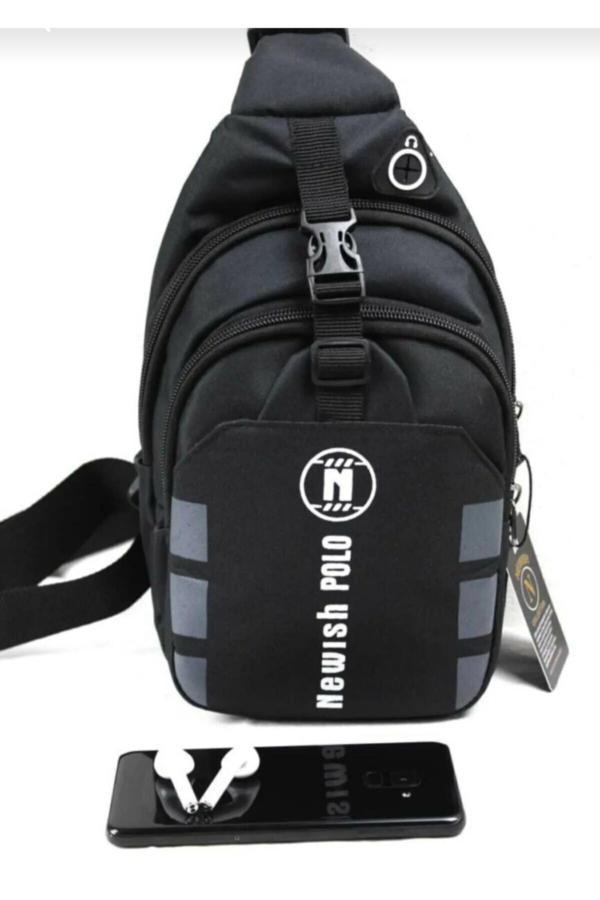 فروش پستی ست کیف کمری مردانه برند Newish Polo رنگ مشکی کد ty45978013
