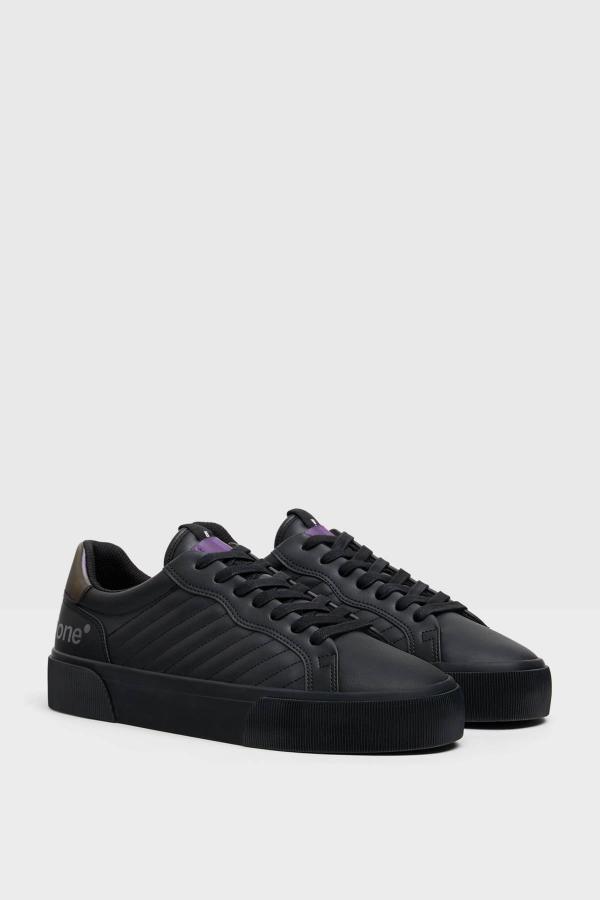خرید انلاین کفش اسپرت زیبا مردانه برند bershka رنگ مشکی کد ty46055891