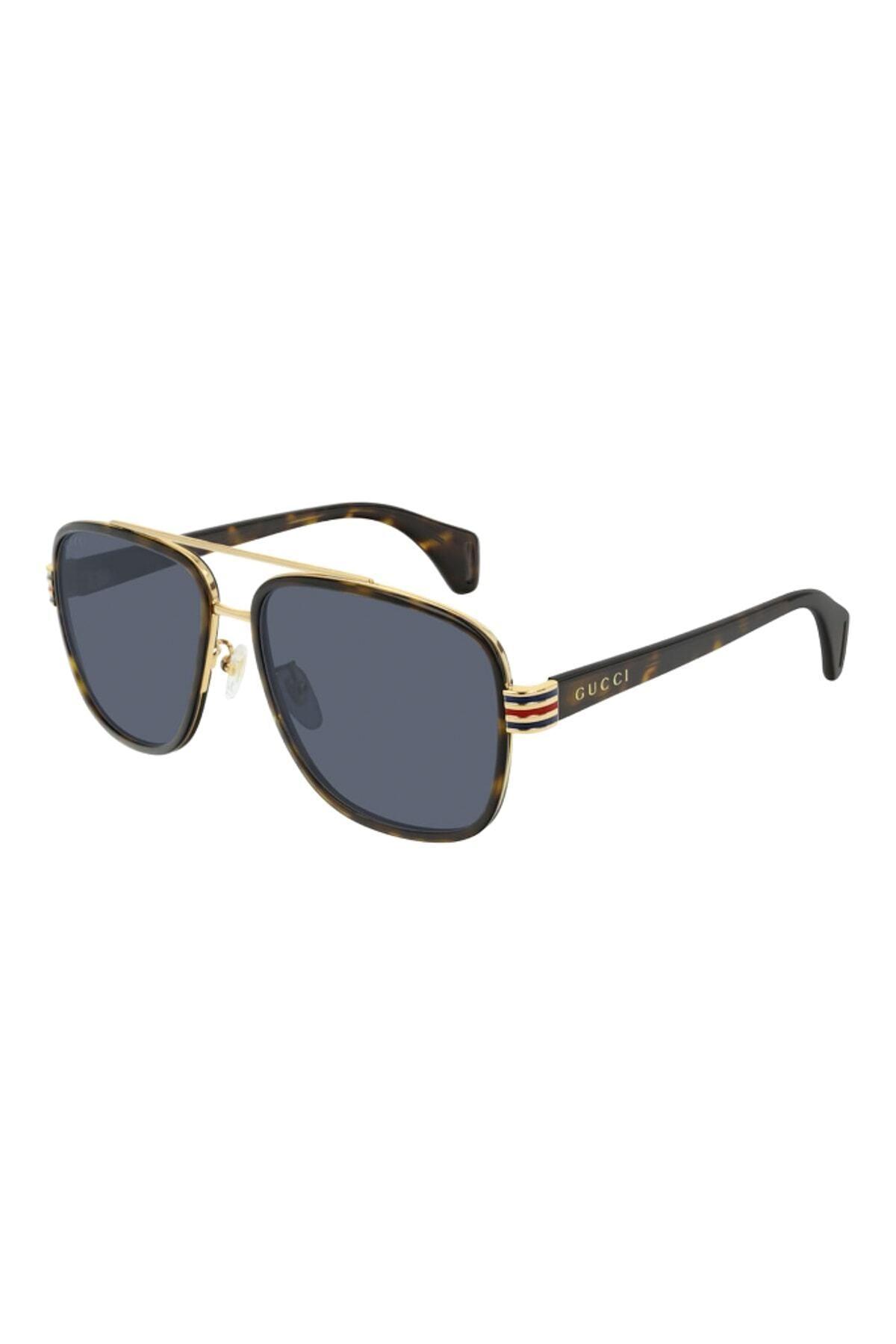 فروش پستی عینک آفتابی مردانه ترک برند گوچی رنگ قهوه ای کد ty46148301