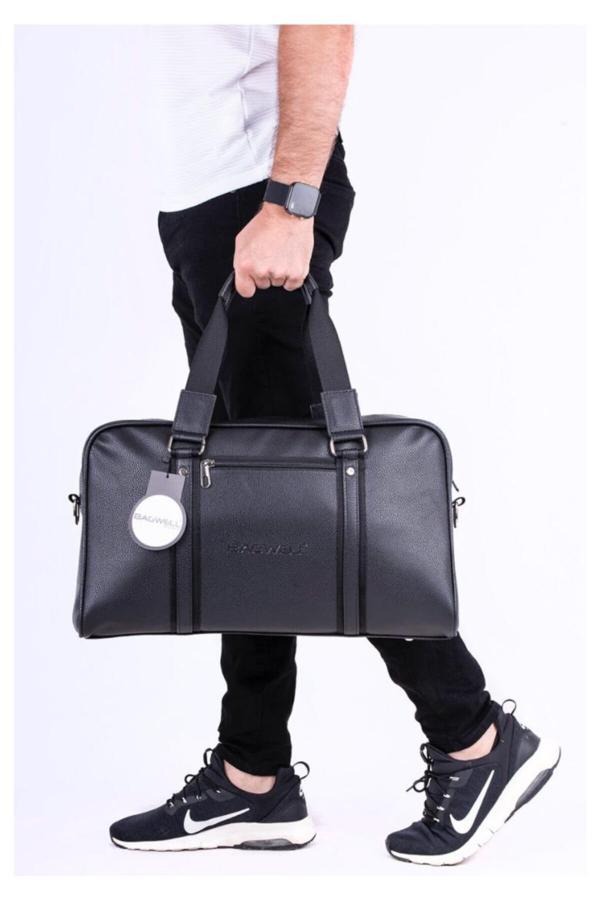 کیف ورزشی مردانه ارزان برند BAGWELL رنگ مشکی کد ty46352432