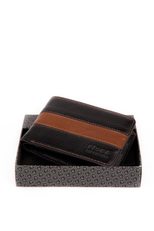 فروش کیف پول مردانه حراجی برند Flapp رنگ مشکی کد ty46541467