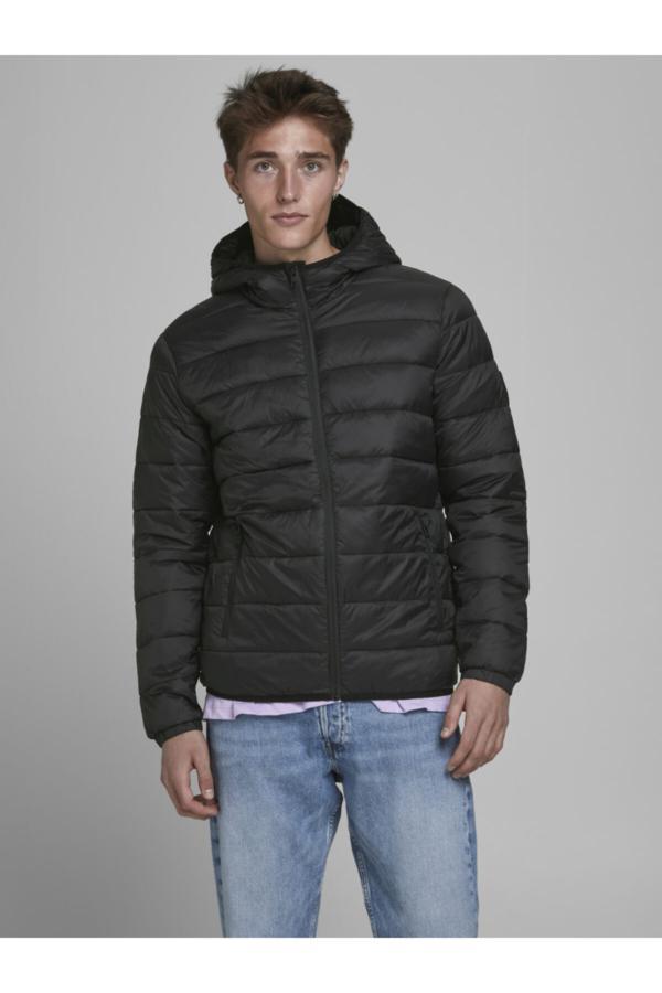 فروش کاپشن مردانه فانتزی برند Jack Jones رنگ مشکی کد ty46818359