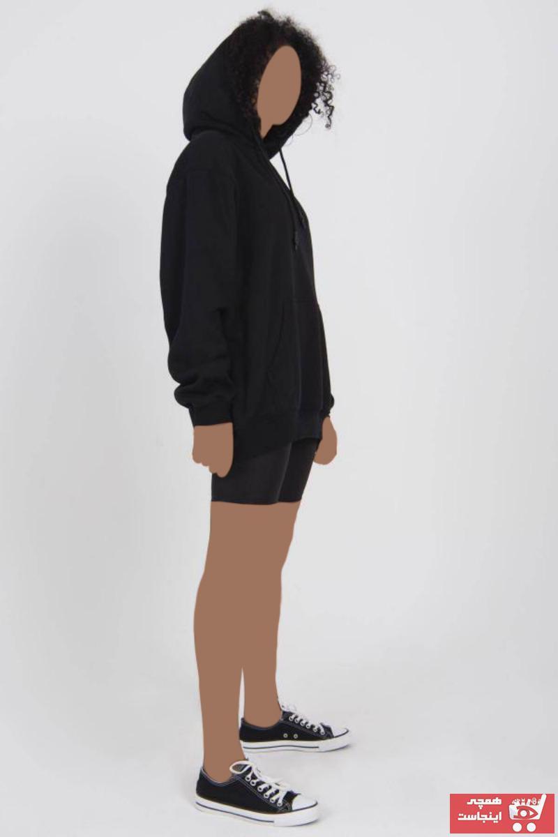 سویشرت خاص زنانه برند Addax رنگ مشکی کد ty46824803
