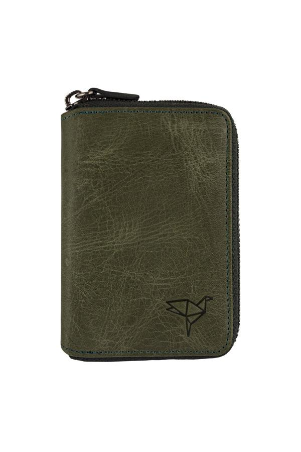 خرید انلاین کیف پول جدید مردانه اصل برند Garbalia رنگ سبز کد ty46902643