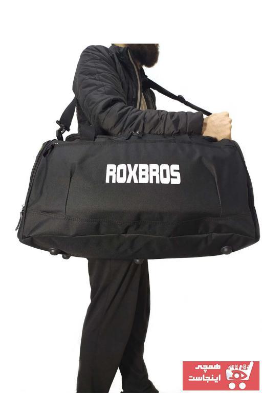 خرید انلاین کیف ورزشی طرح دار برند Sjâlsfrânde رنگ مشکی کد ty47063936