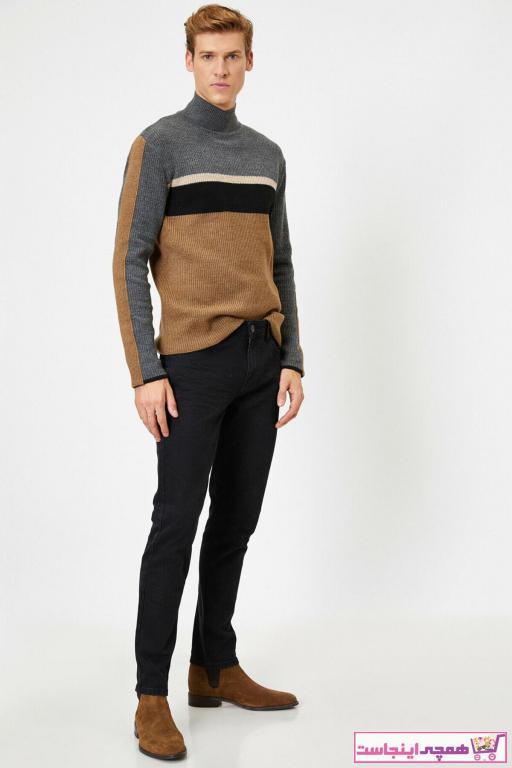 فروش پستی ست شلوار جین مردانه برند کوتون رنگ مشکی کد ty47424874