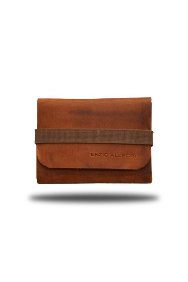 خرید انلاین کیف کارت بانکی اورجینال مردانه برند Enzio Allegri رنگ قهوه ای کد ty47606919