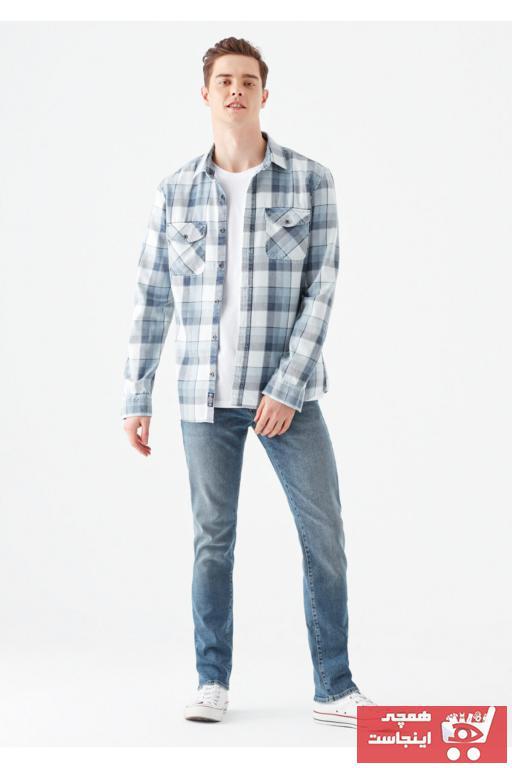 خرید اینترنتی شلوار جین بلند برند ماوی رنگ آبی کد ty47772282