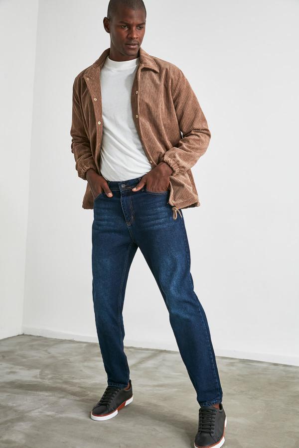 شلوار جین مردانه 2020 مارک ترندیول مرد رنگ لاجوردی کد ty47868071