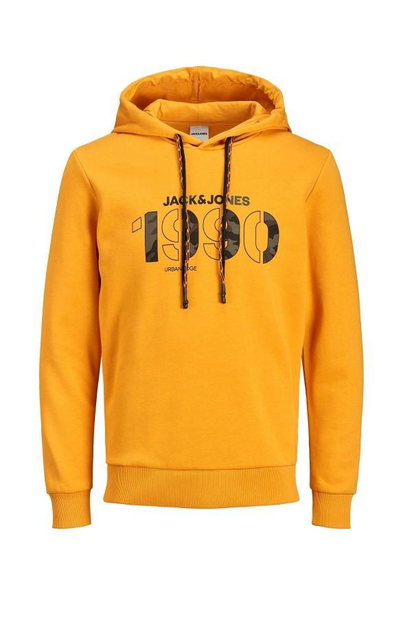 سویشرت مردانه اسپرت جدید برند Jack Jones رنگ زرد ty47959351