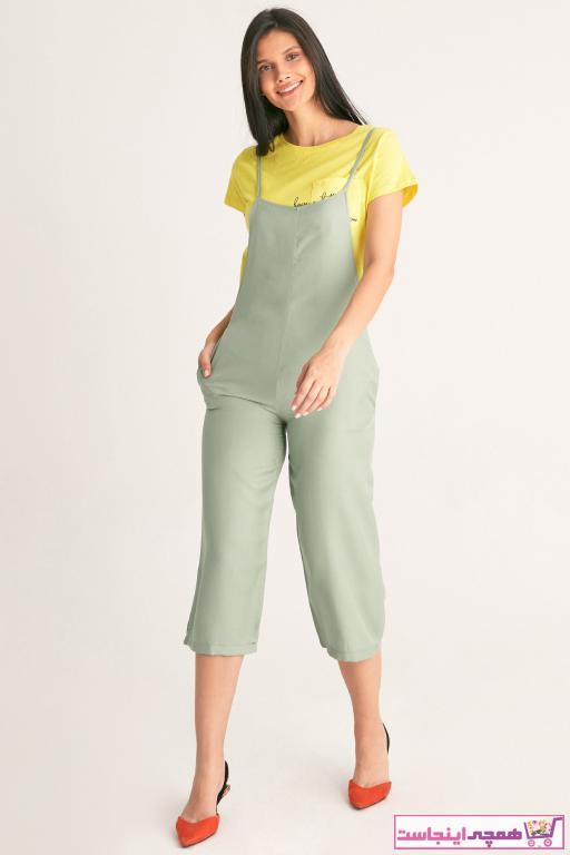 تولوم زنانه ارزان برند Fulla Moda رنگ سبز کد ty48146257
