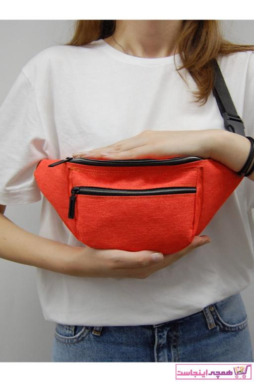کیف کمری اصل مردانه برند Moda West رنگ نارنجی کد ty48147759