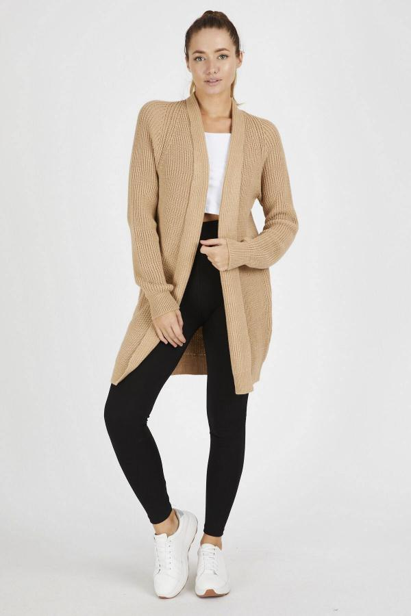 خرید مدل ژاکت بافتی زنانه برند Mio Secret رنگ قهوه ای کد ty48593790