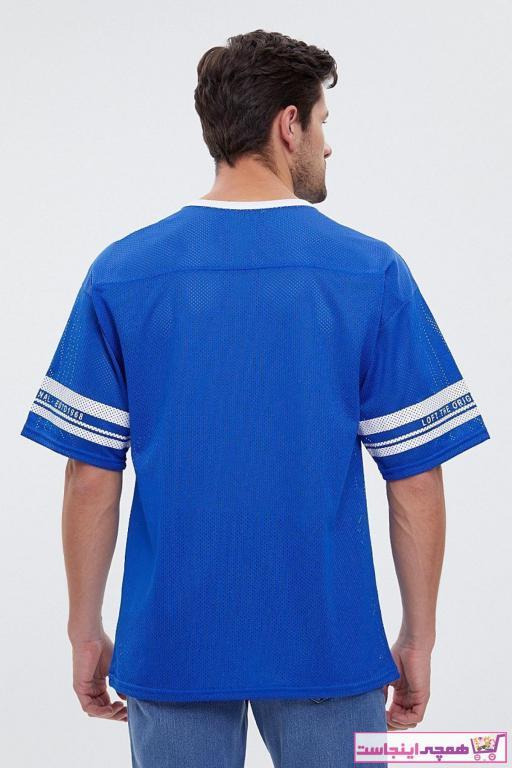 خرید تیشرت غیرحضوری برند Loft رنگ آبی کد ty48674956