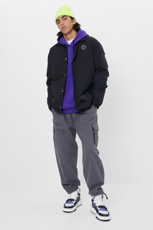 ژاکت مردانه ارزان برند برشکا رنگ مشکی کد ty48823182