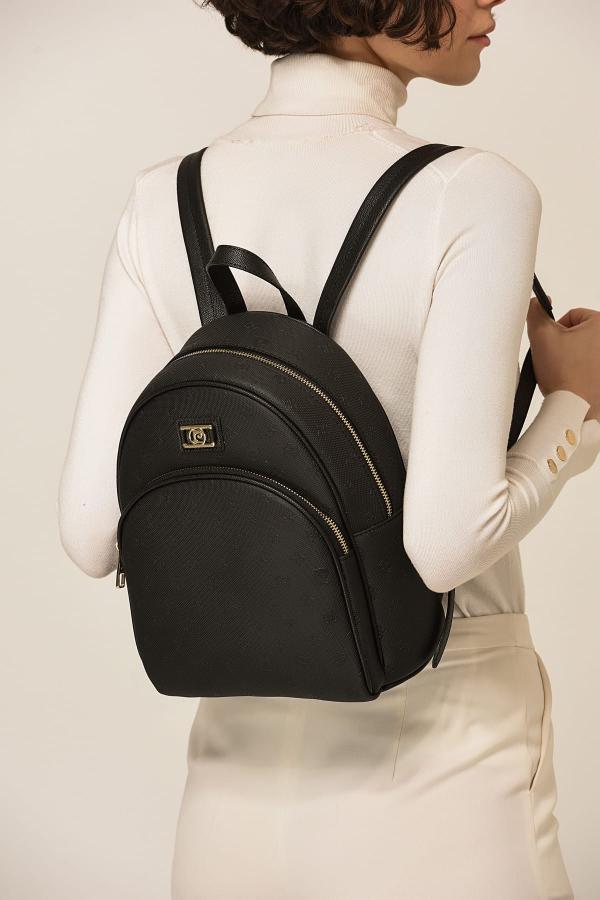 فروش کوله پشتی دخترانه حراجی مارک پیرکاردین رنگ مشکی کد ty4935464