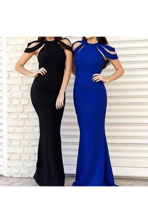خرید انلاین لباس مجلسی جدید زنانه شیک برند Styling Park رنگ مشکی کد ty49859267