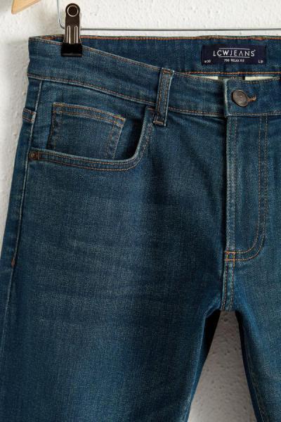 شلوار جین ساده مارک ال سی وایکیکی رنگ نقره ای کد ty49956143
