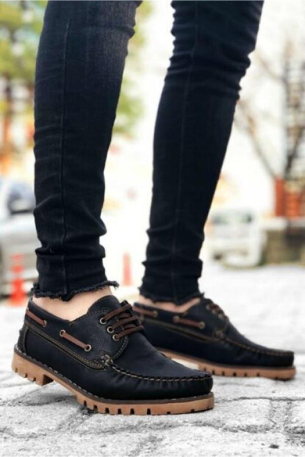 خرید کفش کلاسیک مردانه شیک برند Marsetti رنگ مشکی کد ty50330280