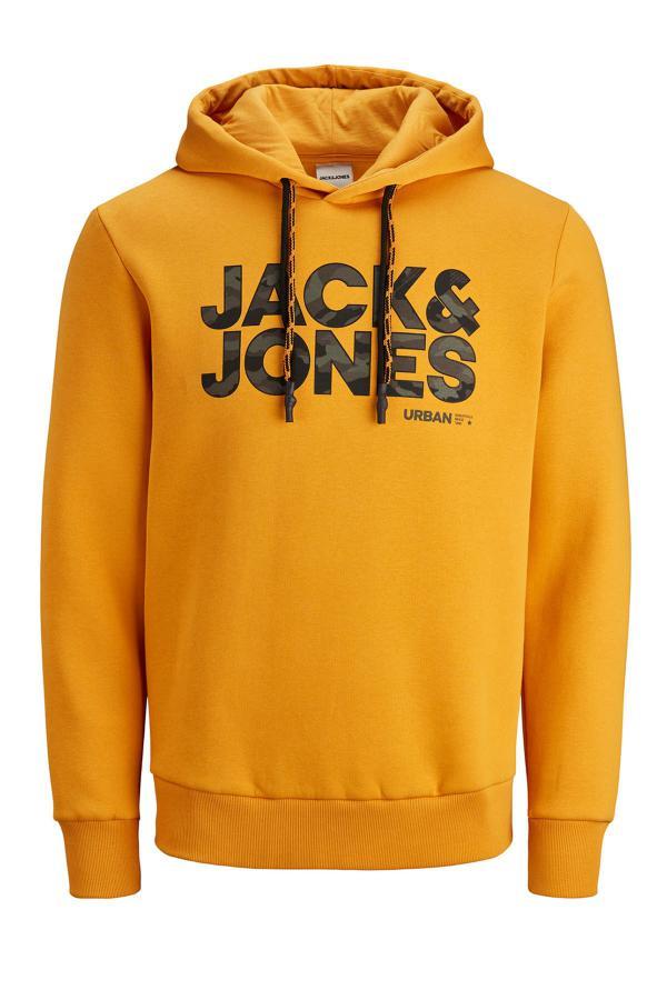 سویشرت فانتزی برند جک اند جونز رنگ نارنجی کد ty50405233