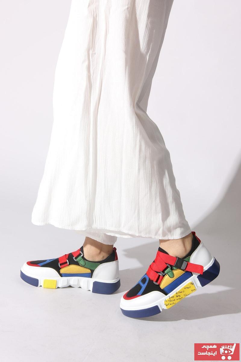 خرید اسپرت 2020 دخترانه برند ROVIGO رنگ سفید ty5045107
