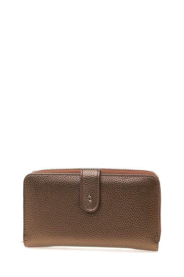خرید کیف پول دخترانه ست برند Fabrika رنگ متالیک کد ty50605333