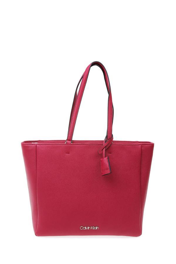 کیف دستی زنانه فروشگاه اینترنتی برند کلوین کلین رنگ زرشکی ty50605941