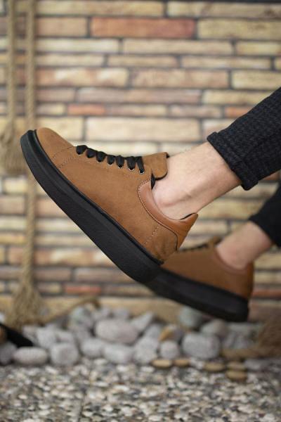 کفش اسپرت مردانه اسپرت برند Riccon رنگ قهوه ای کد ty50679515