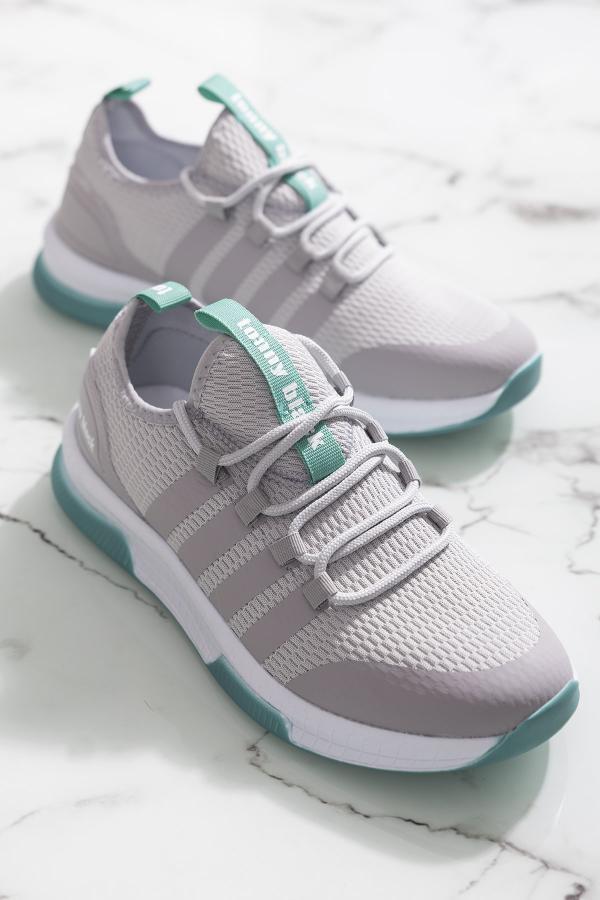 کفش اسپرت مردانه پارچه  برند تونی بلک اورجینال رنگ نقره ای کد ty50769982