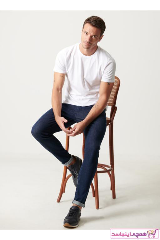 خرید شلوار جین مردانه ست برند ALTINYILDIZ CLASSICS رنگ لاجوردی کد ty50852584