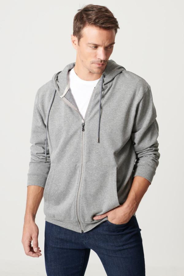 خرید پستی سویشرت مردانه پارچه  برند ALTINYILDIZ CLASSICS رنگ نقره ای کد ty50852729