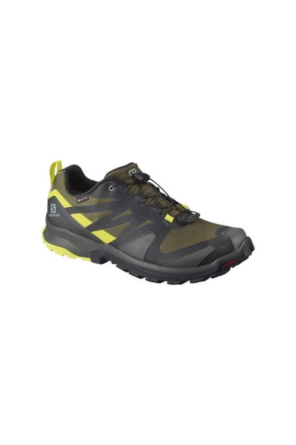 کفش کوهنوردی مردانه مجلسی برند Salomon رنگ زرد ty50893320