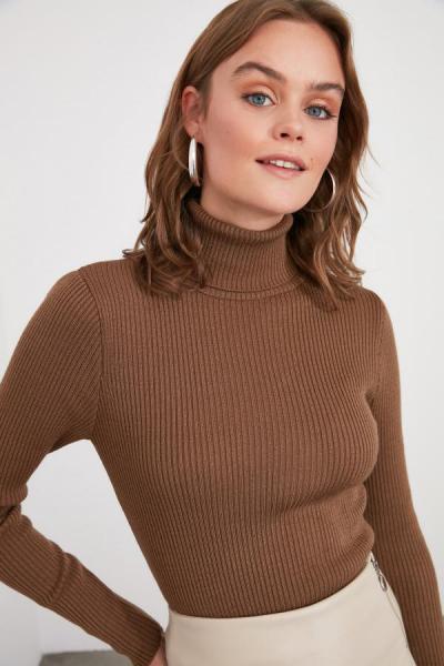فروشگاه پلیور زنانه اینترنتی برند ترندیول میلا رنگ بژ کد ty50934811
