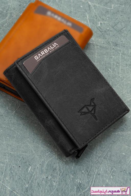 کیف پول مردانه اصل و جدید برند Garbalia رنگ مشکی کد ty51055891