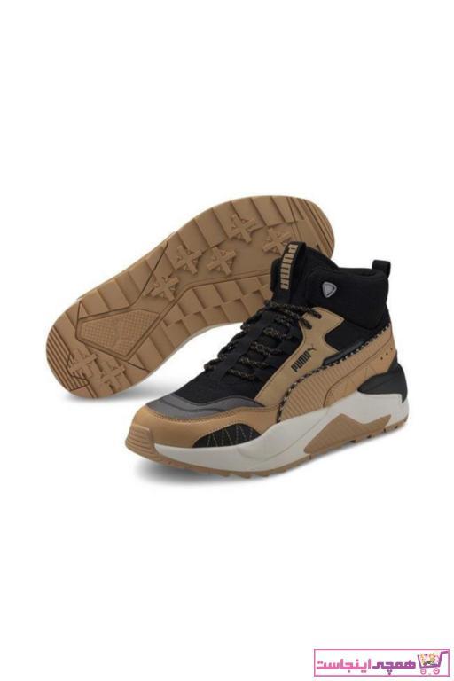 کفش مخصوص پیاده روی ارزان برند Puma رنگ قهوه ای کد ty51379019