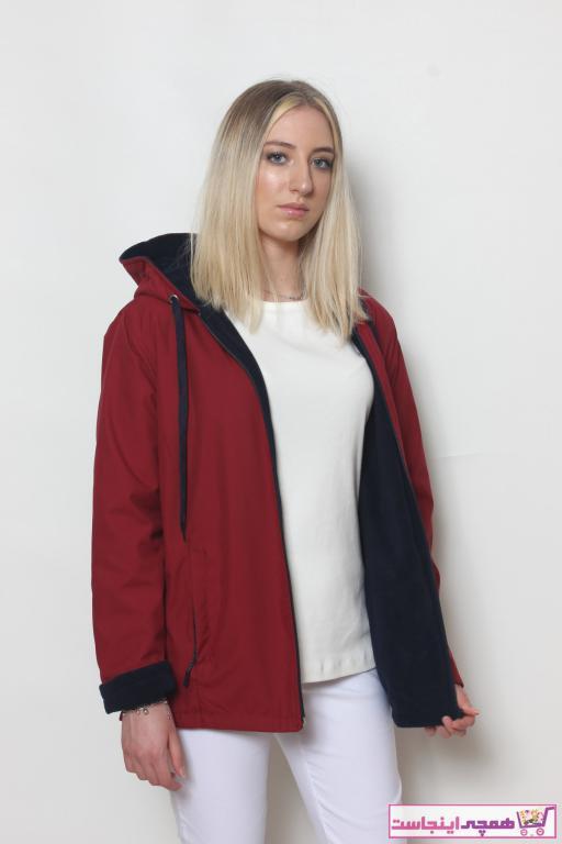 سفارش کاپشن زمستانی زنانه برند Cottoncool رنگ زرشکی ty51429044
