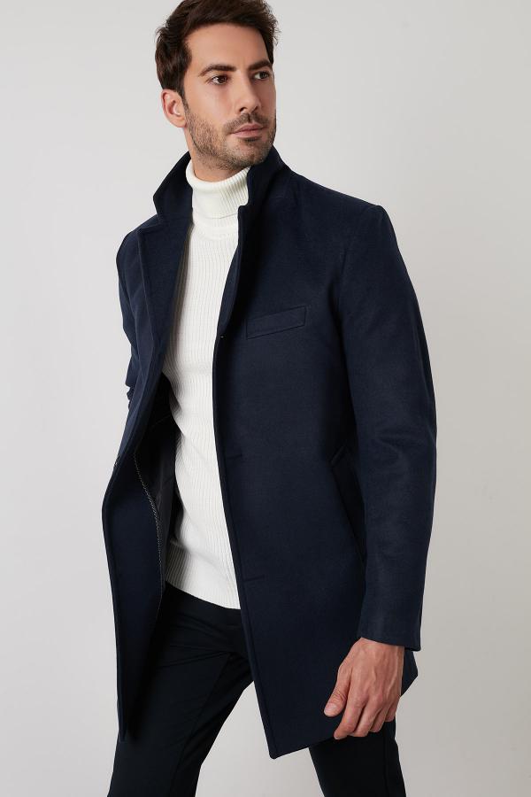 پالتو مردانه شیک و جدید برند Buratti رنگ لاجوردی کد ty51499632