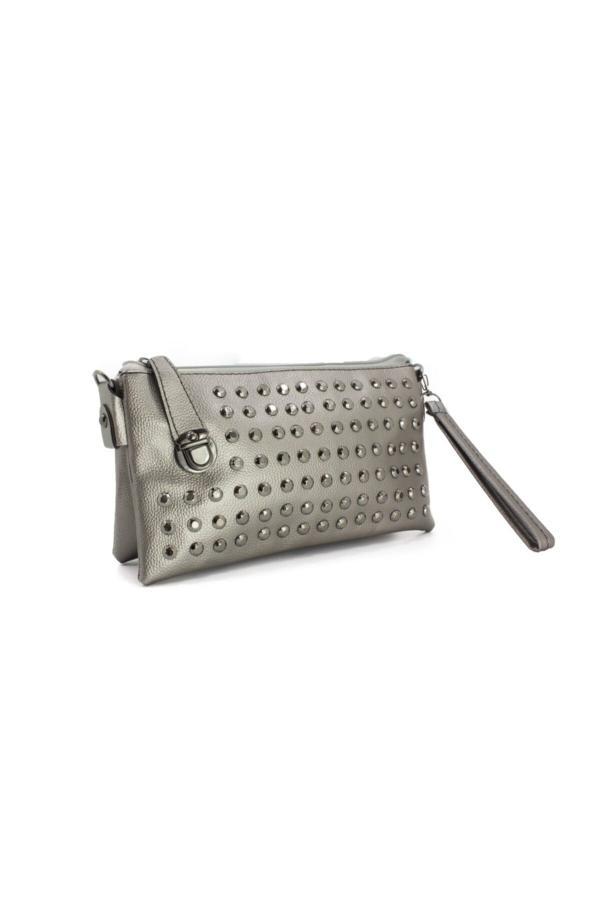 کیف دستی دخترانه ترک برند Lila Çanta رنگ نقره ای کد ty51570717
