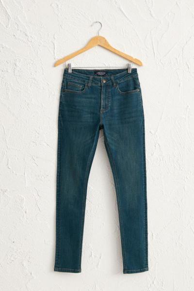 سفارش شلوار جین زمستانی مردانه برند ال سی وایکیکی رنگ سبز کد ty51581230