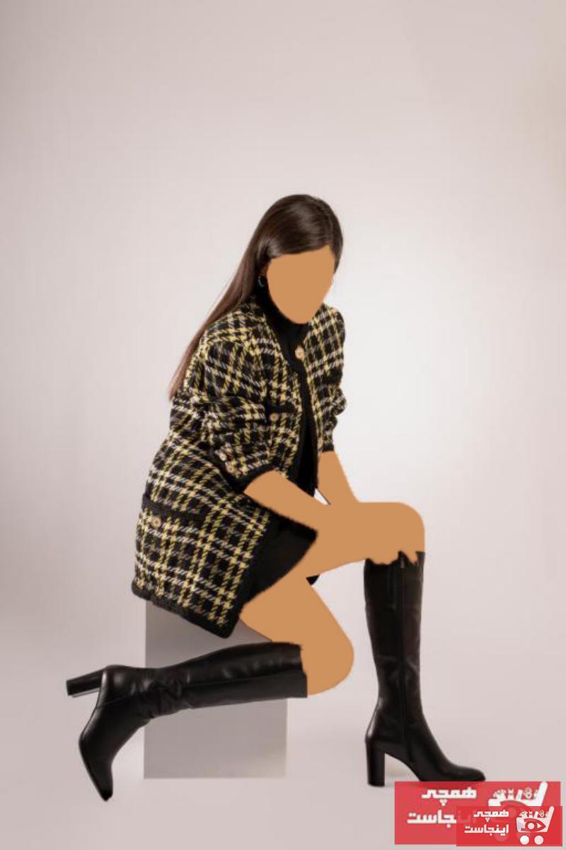 چکمه دخترانه فانتزی برند CZ London رنگ مشکی کد ty51595564