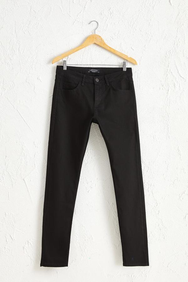 خرید غیر حضوری شلوار جین از ترکیه برند ال سی وایکیکی رنگ مشکی کد ty51604874