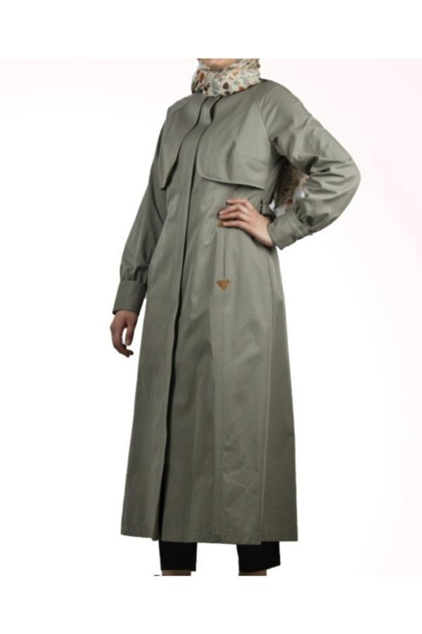 مانتو زمستانی زنانه قیمت برند Kayra رنگ فیروزه ای ty52089174