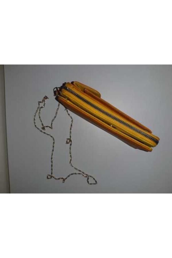 فروش پستی ست کیف دستی زنانه برند asafçanta رنگ زرد ty52109679