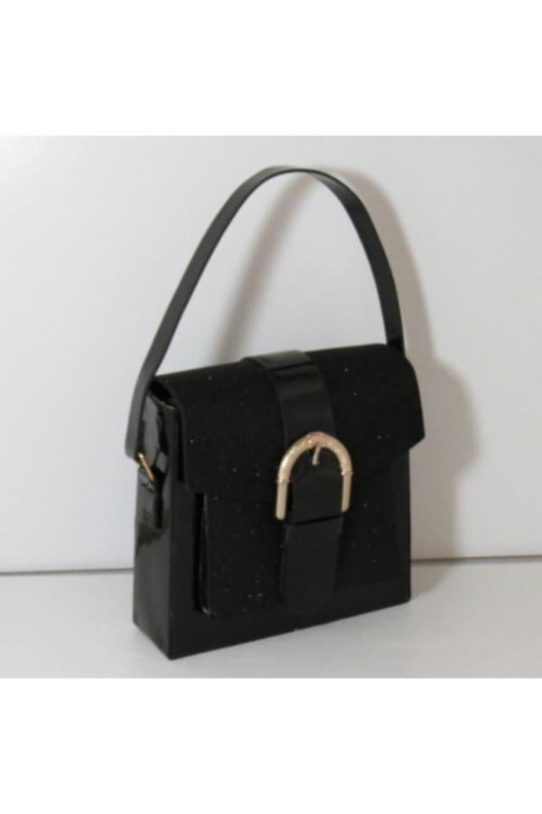 کیف دستی زنانه اصل برند Gececi رنگ مشکی کد ty52135246