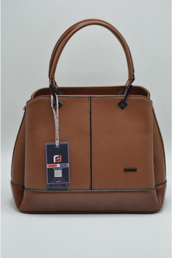 سفارش کیف دستی زنانه ارزان برند Just Polo رنگ قهوه ای کد ty52144075