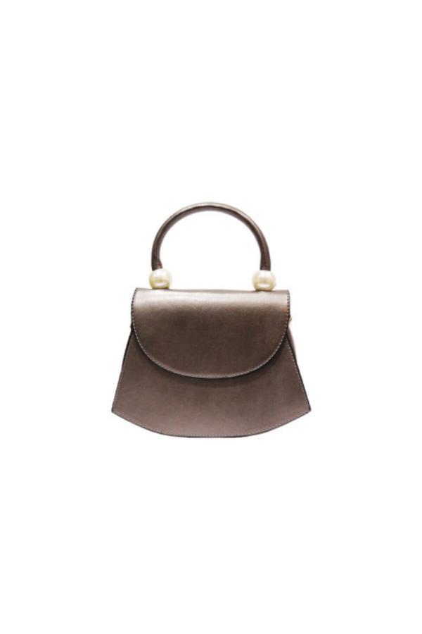 خرید اینترنتی کیف دستی خاص زنانه برند VoiBag رنگ نقره ای کد ty52237827