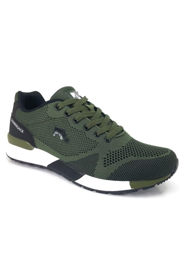 کفش مخصوص دویدن مردانه مدل دار برند lumberjack رنگ خاکی کد ty52238711